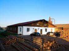 TEKOM-P, domy na klíč, stavební práce, dřevěné obaly, řezivo, palivo, brikety