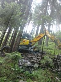 Zemní práce-Pohořelý Vrchlabí  doprava Tatra 815 prodej písku, drtě, kačírku
