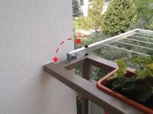 Balkónový sušiak LINEN