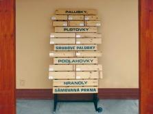 Prodej stavebního dřeva