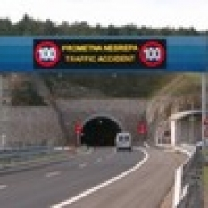 LED Proměnné dopravní značky