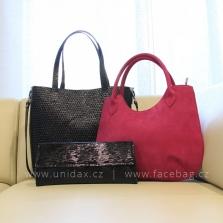 Luxusní dámské kožené kabelky