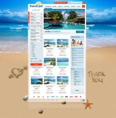Profesionálna webstránka - Cestovná kancelária
