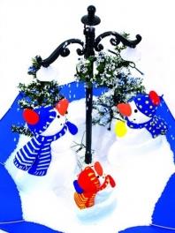 Vánoční scenérie Snowies (80cm)