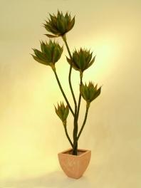 Umělý strom Agave palma (160cm)