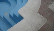 Bazénové lemy z pravého kamene