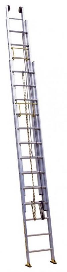 Hliníkové žebříky Profi provazem ovladané
