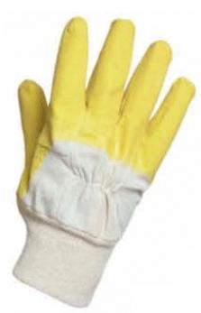 Pracovní rukavice polomáčené