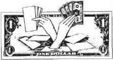 Kouzelnický trik Výroba bankovek