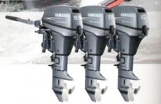 Lodní motory Yamaha  F2,5  F4  F6  F8  F9,9