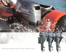 Lodní motory Yamaha F15 až F25