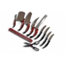10-dielna sada nožov