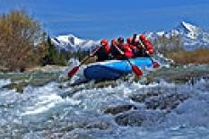 Rafting na divokej rieke