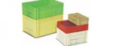 Stohovateľné plastové prepravky