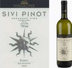 Víno Sivi Pinot