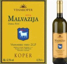 Víno Malvazija