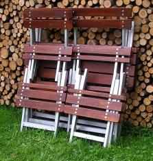 Záhradný nábytok hliníkový