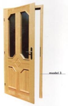 Dveře lištované