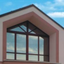 Dřevohliníkové okno TTK