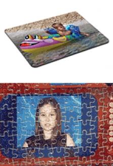 Potisk triček, puzzle, mousepadů, čepic