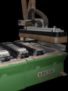 Frézovanie na CNC stroji  BIESSE-Rover 20