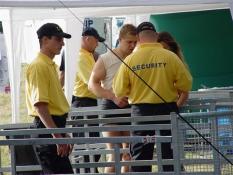 Koncertní a festivalová security