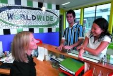 kurzy angličtiny na jazykové škole Worldwide v Aucklandu, Nový Zéland