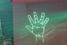 Grafická lasershow