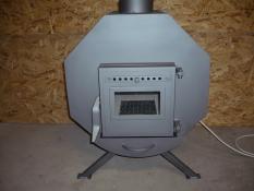 Teplovzdušná pec s ventilátorom