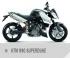 Motocykl KTM 990 Superduke