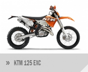 Motocykl KTM 125 EXC