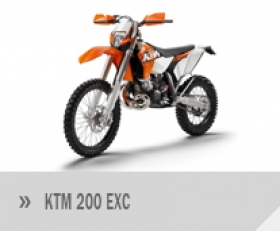 Motocykl KTM 200 EXC