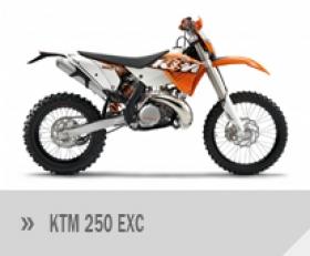 Motocykl KTM 250 EXC