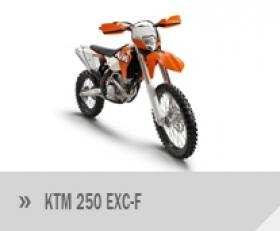 Motocykl KTM 250 EXC-F
