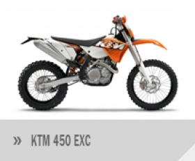 Motocykl KTM 450 EXC