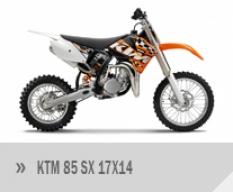 Motocykl KTM 85 SX 17×14