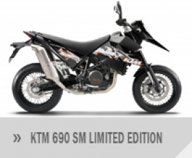Motocykl KTM 690 Supermoto Limited Edition
