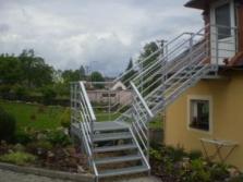 Ocelová schodiště