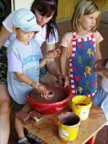 Tábor s keramikou