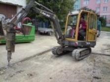 Odvoz sutě, dovoz písku i zeminy, zemní práce