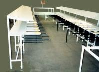 Stůl na třídění barev