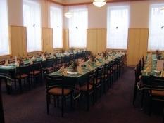 Restaurace v penzionu Běluň
