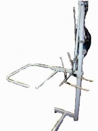 Odkladač pneumatický k žehlícímu stolu
