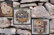 Mozaiky z kameňa