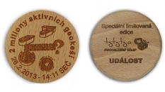 CWG (Czech wood geocoin)