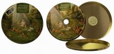Plechový obal na CD a DVD