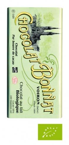 Čokolády Bio mléčné