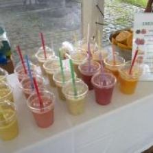 Prípravy smoothies nápojov na vašich akciách