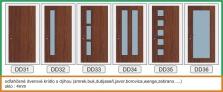 Dýhované interiérové dvere