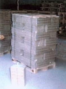 Brikety dřevěné kostky